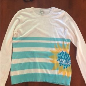 Lilly Pulitzer long sleeve summer sweater